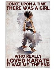A Girl Really Loved Karate 11x17 Poster front
