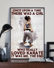 A Girl Really Loved Karate 11x17 Poster lifestyle-poster-2