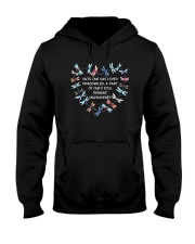 Dragonfly Heart Hooded Sweatshirt thumbnail