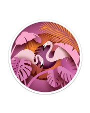 For Flamingo Lovers Sticker - Single (Vertical) front