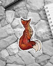Fox Stickers Sticker - 2 pack (Vertical) aos-sticker-2-pack-vertical-lifestyle-front-04
