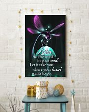 For Dragonfly Lovers 11x17 Poster lifestyle-holiday-poster-3