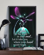 For Dragonfly Lovers 11x17 Poster lifestyle-poster-2