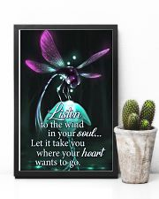 For Dragonfly Lovers 11x17 Poster lifestyle-poster-8
