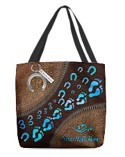 Horse Girl Tote Bag All-over Tote back