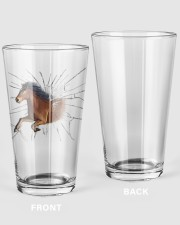 Horse 16oz Pint Glass front