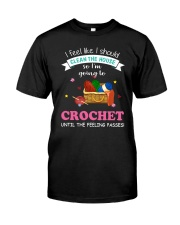 I'm Going To Crochet Classic T-Shirt front