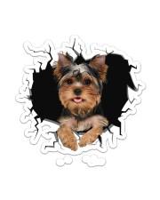 Yorkie  Sticker - Single (Vertical) front