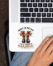 Marine Mom Sticker - Single (Vertical) aos-sticker-single-vertical-lifestyle-front-11