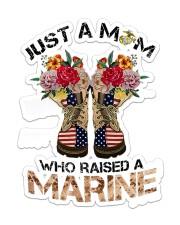 Marine Mom Sticker - Single (Vertical) front