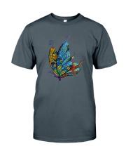 Mosaic Butterfly Classic T-Shirt tile