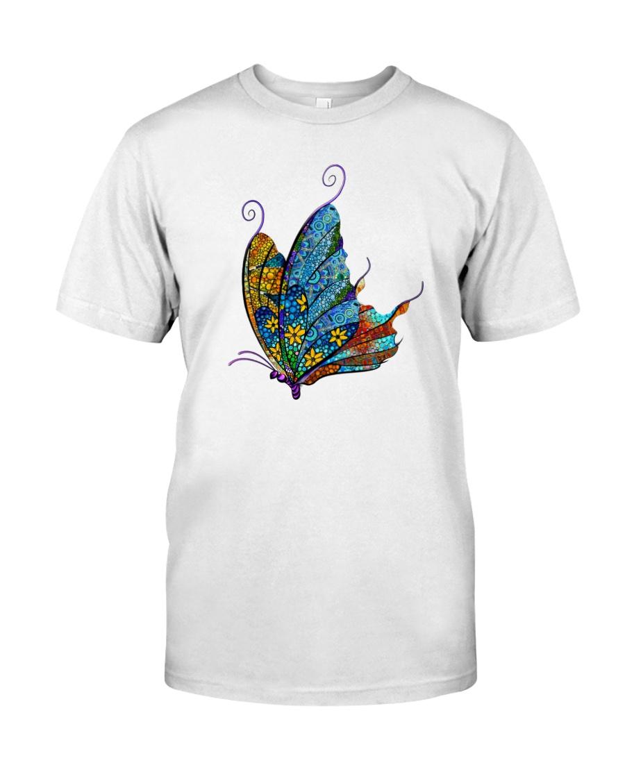 Mosaic Butterfly Classic T-Shirt