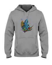 Mosaic Butterfly Hooded Sweatshirt thumbnail