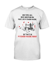 I Love My Sewing Machine Classic T-Shirt front