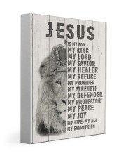 Jesus Is My King 11x14 Gallery Wrapped Canvas Prints front