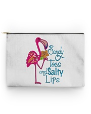 Flamingo Salty Lips Accessory Pouch - Standard front