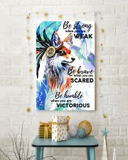 Fox Be Brave 11x17 Poster lifestyle-holiday-poster-3
