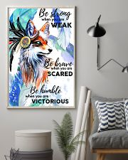 Fox Be Brave 11x17 Poster lifestyle-poster-1