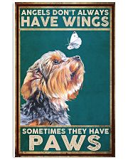 Yorkie Angel 11x17 Poster front