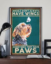 Yorkie Angel 11x17 Poster lifestyle-poster-2