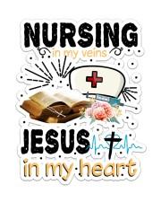 Nursing In My Vein Sticker - Single (Vertical) front