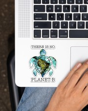 Turtle There Is No Planet B Sticker - Single (Vertical) aos-sticker-single-vertical-lifestyle-front-11