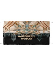 Strong Indigenous Woman Cloth face mask front
