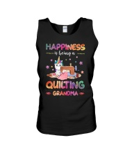 Happiness Is Being A Quilting Grandma Unisex Tank thumbnail