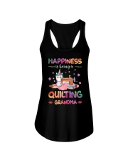 Happiness Is Being A Quilting Grandma Ladies Flowy Tank thumbnail