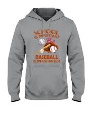 Baseball Is Importanter Hooded Sweatshirt thumbnail