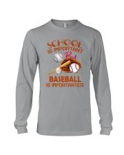 Baseball Is Importanter Long Sleeve Tee thumbnail