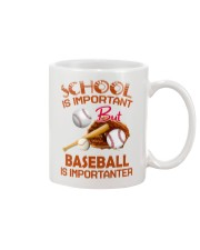 Baseball Is Importanter Mug thumbnail