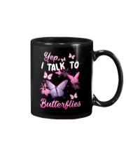 Yelp I Talk To Butterflies Mug thumbnail