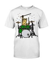 Cat Drum  Classic T-Shirt thumbnail