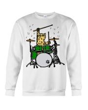 Cat Drum  Crewneck Sweatshirt thumbnail