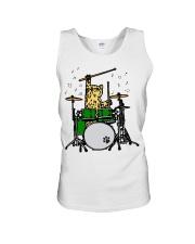 Cat Drum  Unisex Tank thumbnail
