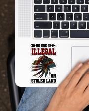 Native Stolen Sticker - Single (Vertical) aos-sticker-single-vertical-lifestyle-front-11