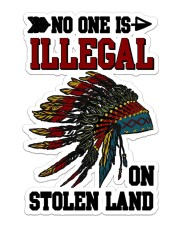 Native Stolen Sticker - Single (Vertical) front