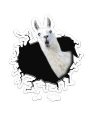 Llama  Sticker - Single (Vertical) front