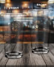 Jesus NTV 16oz Pint Glass aos-16oz-pint-glass-lifestyle-front-11