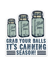 Canning Season  Sticker - Single (Vertical) front