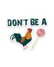 Chicken  Sticker - Single (Horizontal) front
