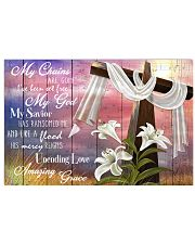 God Amazing Grace Poster 17x11 Poster front