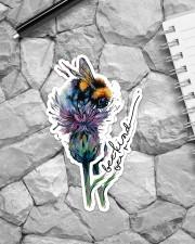 Bee Kind Sticker - 2 pack (Vertical) aos-sticker-2-pack-vertical-lifestyle-front-04