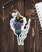 Bee Kind Sticker - 2 pack (Vertical) aos-sticker-2-pack-vertical-lifestyle-front-05