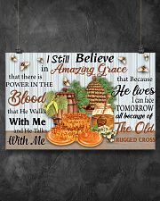 Bee Amazing Grace 17x11 Poster poster-landscape-17x11-lifestyle-12