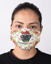 For Dachshund Lovers Cloth face mask aos-face-mask-lifestyle-01