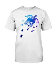 Water Turtles Classic T-Shirt front