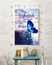 Let Your Faith Be Bigger Than Your Fear 11x17 Poster lifestyle-holiday-poster-3