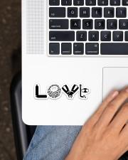 Love Scuba Diving Sticker - Single (Horizontal) aos-sticker-single-horizontal-lifestyle-front-11
